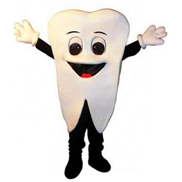 tooth mascot costume