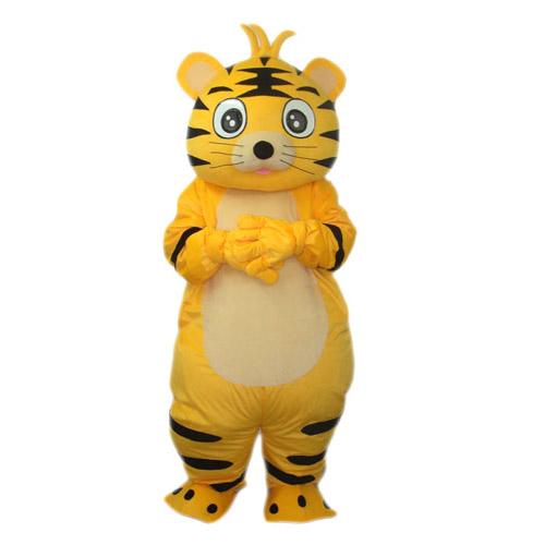 Tiger Mascot Adult Costume Cute funny Mascots