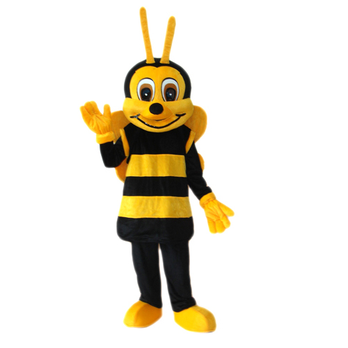 Little bee mascot costume Cute funny bee mascot