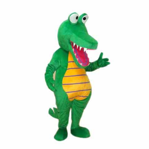 Crocodiles mascot costume Professional Quality