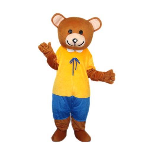 Bear mascot Costume Professional Quality Mascot Costumes gift
