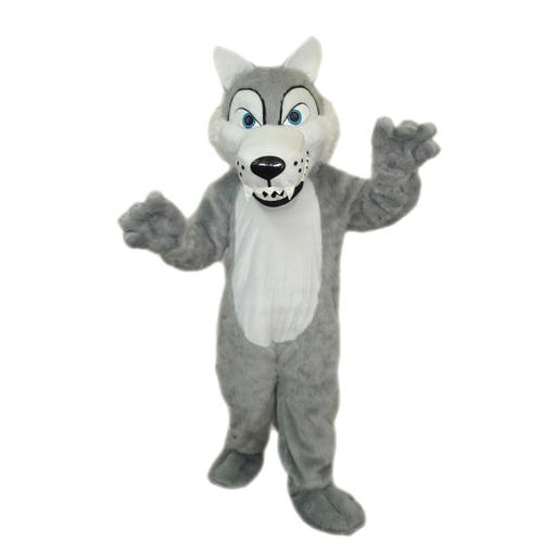 Wolf mascot costume Professional High Quality Wolf Mascot Costumes