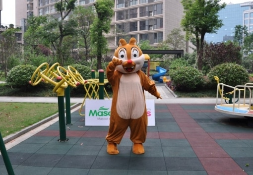Disney Dale Chipmunk CostumeChipmunk Deluxe Mascot Adult Costume