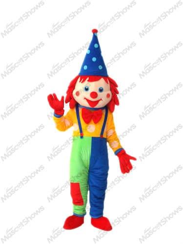 Japan Clown Mascot Costume Halloween Fancy Dress