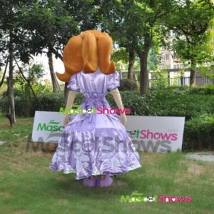 New Design Adult Mascot Costume Princess Sofia Adult Sofia The First Mascot Costume