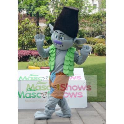 Adult Trolls Gnome Costume Mascot Princess Fancy Dress