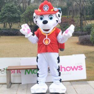 Paw Patrol Marshall Mascot Costume Adult Unisex Cartoon Character Mascot Costume Custom Made