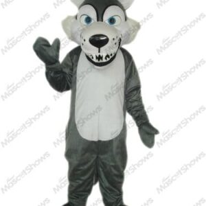 Grey Wolf Mascots Halloween Costume Cospaly Fancy Dress